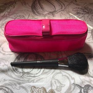 New Dior powder brush & Kate Spade cosmetic case